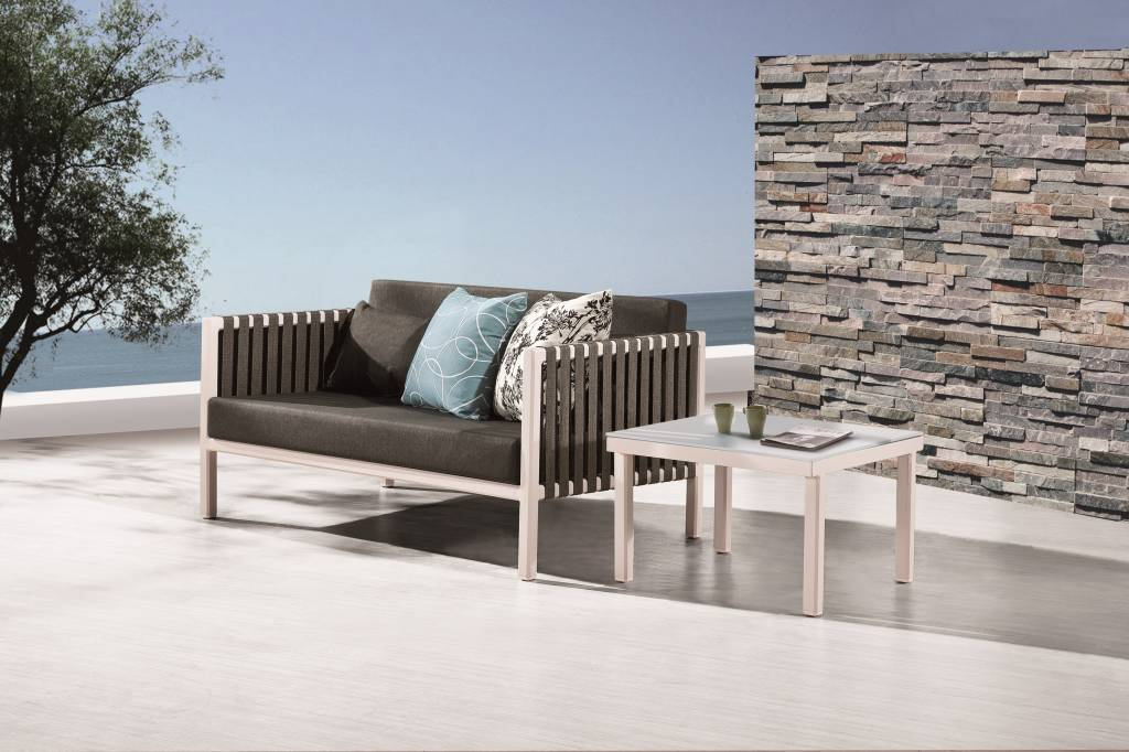 Garnet Modern Outdoor Loveseat Sofa Set on Outdoor Loveseat Sets  id=49408
