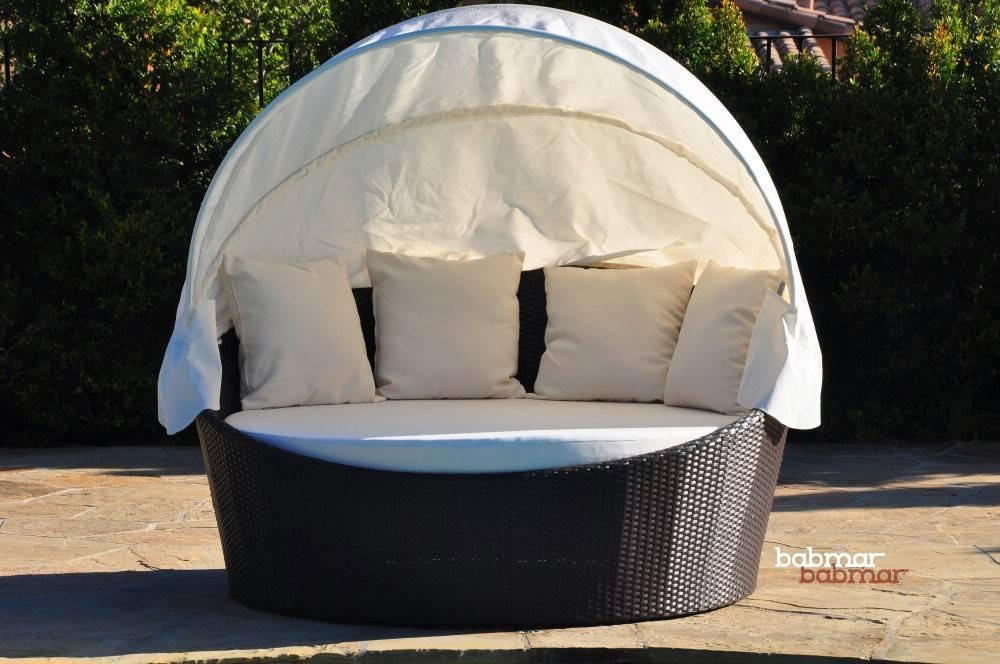 Outdoor Daybed With Canopy  Babmar.com  Commercial Outdoor ... on Belham Living Lilianna Outdoor Daybed id=70133