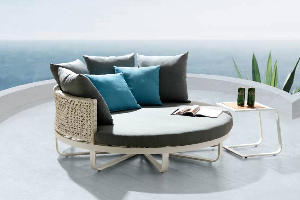 Polo Modern Outdoor Large Daybed  babmar.com on Belham Living Lilianna Outdoor Daybed id=35953