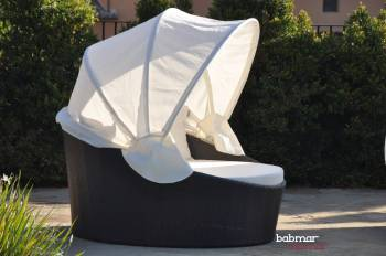 Outdoor Daybed With Canopy  Babmar.com  Commercial Outdoor ... on Belham Living Lilianna Outdoor Daybed id=48426