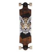 Landyachtz Switch 40 Tiger Downhill Freeride Longboard Skateboard Face