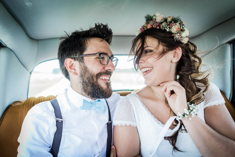 Mariage bohème à L'Armandière