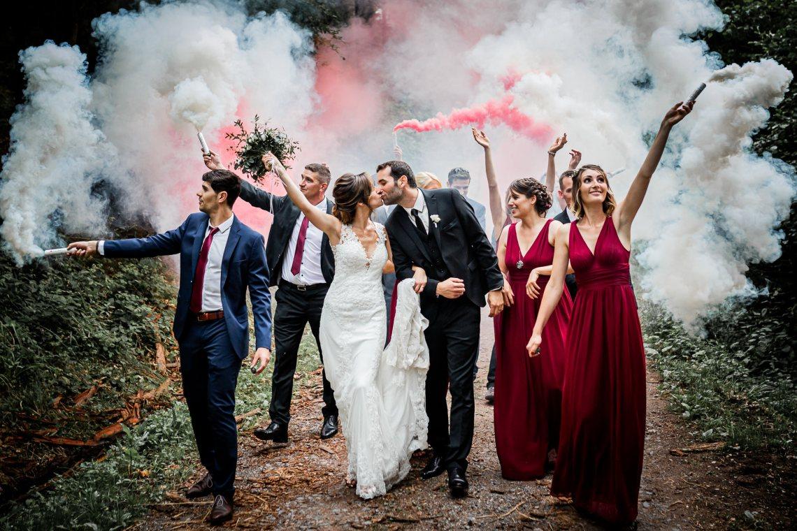 Merveilleux Mariage à L'écrin de Verdure/Floessplatz
