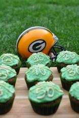Football Cupcake