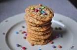 Dinkelflocken Cookies