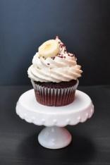 Schokobananen Cupcake