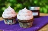 Mohn Zwetschken Cupcakes