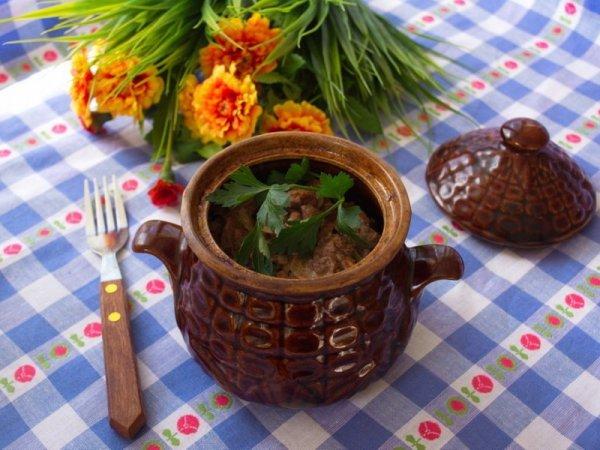 Свинина в горшочках в духовке: рецепты приготовления блюд ...