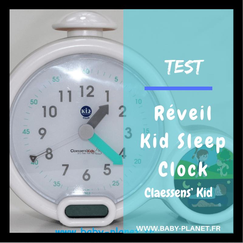 réveil Kid Sleep Clock _ Claessens' Kid