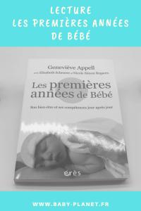 premieres années de bébé