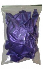 Ballonnen paars parelmoer