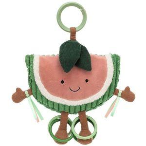 jellycat amuseables activiteitenknuffel watermeloen - 19 cm