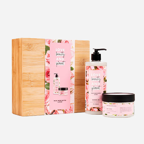 Love Beauty & Planet Rosemary & Vetiver luxe bamboo geschenkset