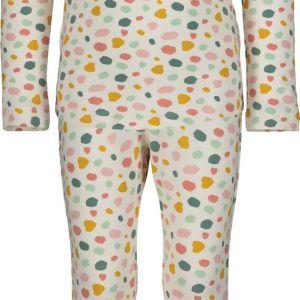HEMA Kinderpyjama Wit (wit)