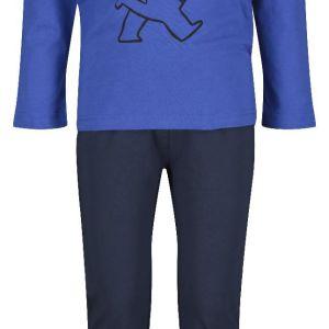 HEMA Kinderpyjama Beer Blauw (blauw)