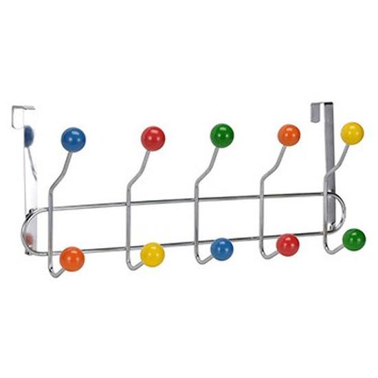Gekleurde kinderkamer deur kapstok 42 x 17,5 x 9,5 cm