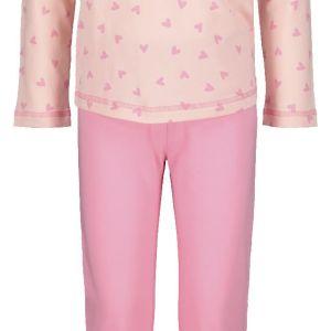 HEMA Kinderpyjama Hartjes Roze (roze)