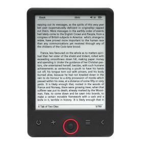Premium EBO-630L E-Reader - 6 inch
