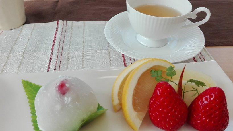 永井マザーズホスピタル お料理教室 ハーブティー