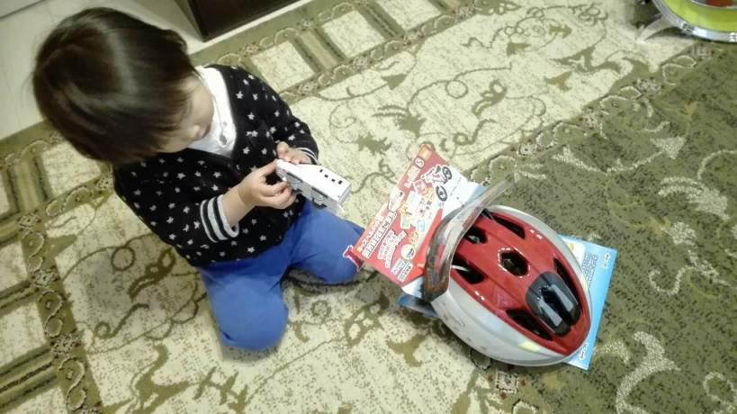 アイデス新幹線ヘルメットこまち