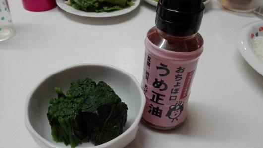 おちょぼ口正油モニター 正田醬油 うめ
