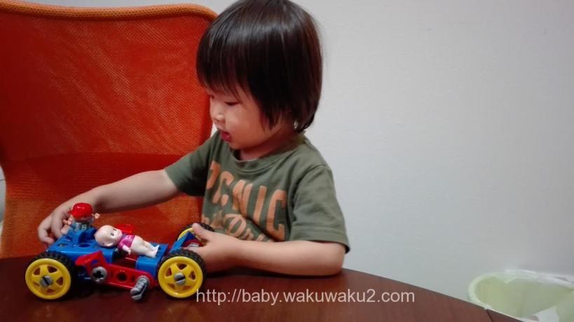 こゆたん 2歳9ヶ月 ポリシエ 2歳児