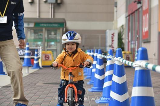 アイデス主催 D-Bike体験会 ディーバイクトライ ディーバイクキックス 自転車 ペダルレスバイク
