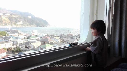 伊豆 稲取赤尾ホテル 子連れ 子供 3歳 カニ食べ放題