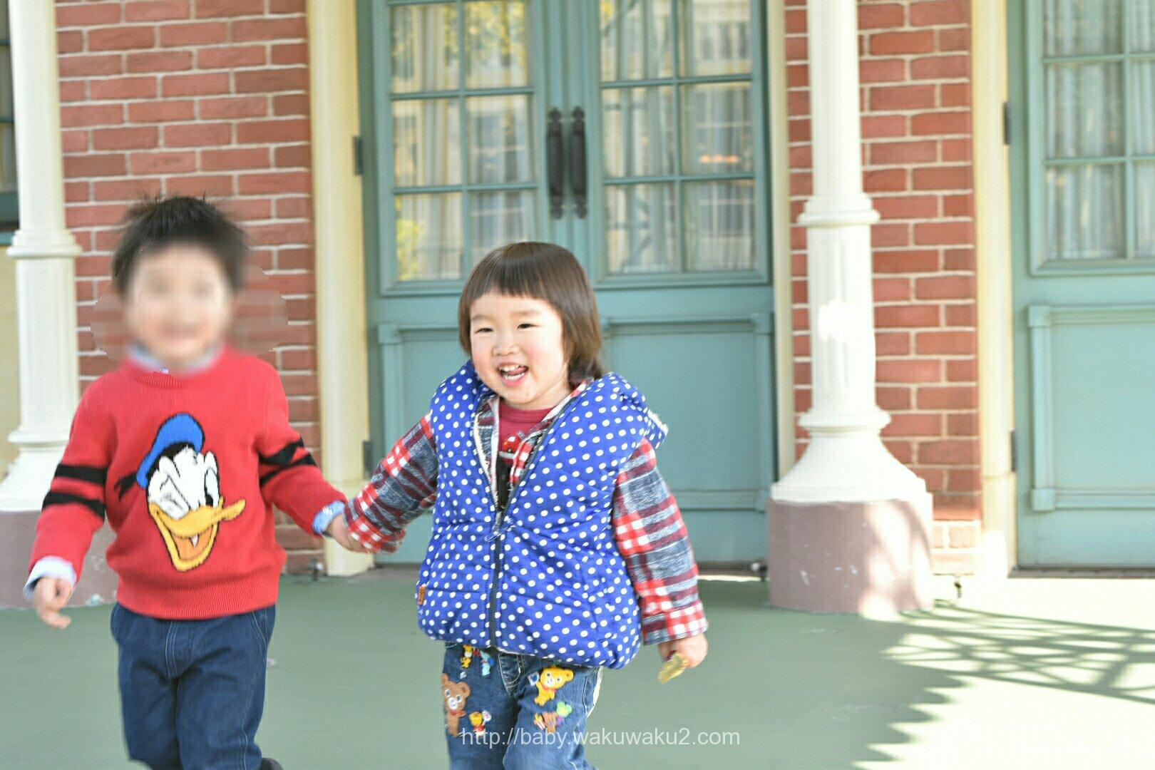 3歳 ディズニーランド お友達