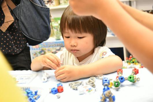 東京おもちゃショー2018 ブログ 会場レポート お土産 おもちゃショー 無料 リブロック
