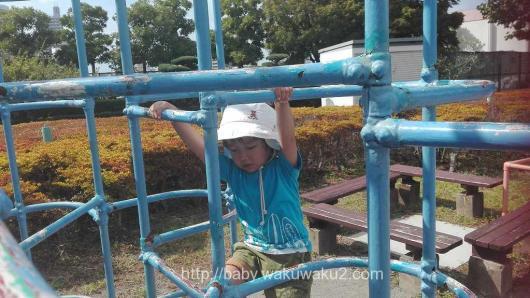 荒川自然公園 子連れ ブログ 3歳 4歳 自転車デビュー 交通園