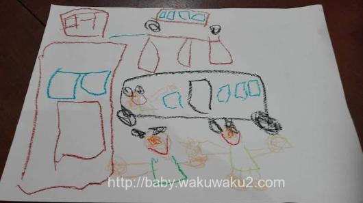 年中 こゆたん 4歳 子供の絵