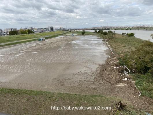 台風19号 荒川 被害