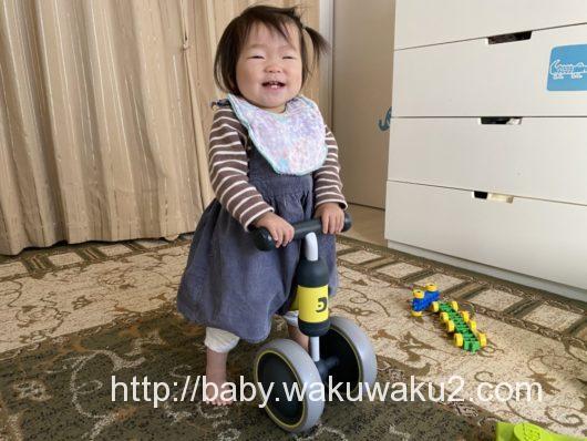 1歳 三輪車 ディーバイクミニ