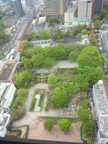 文京シビックホール展望公園