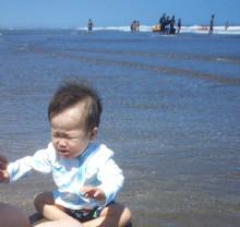 九十九里 赤ちゃん 海