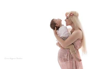 Muenchen Fotoshooting Babybauch