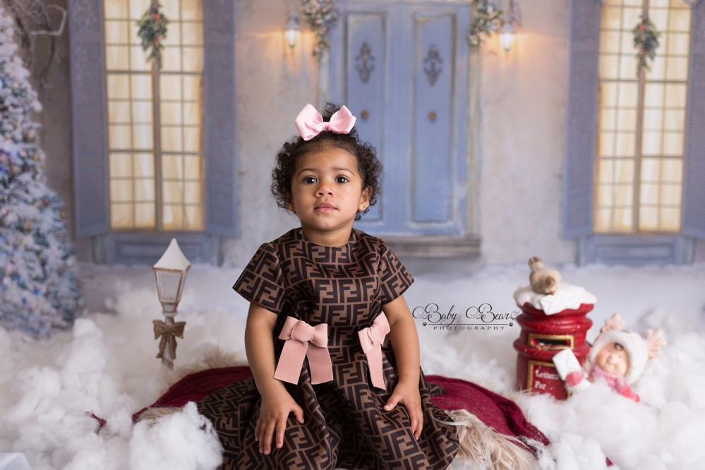 Sweet baby at Coventry Christmas shoot