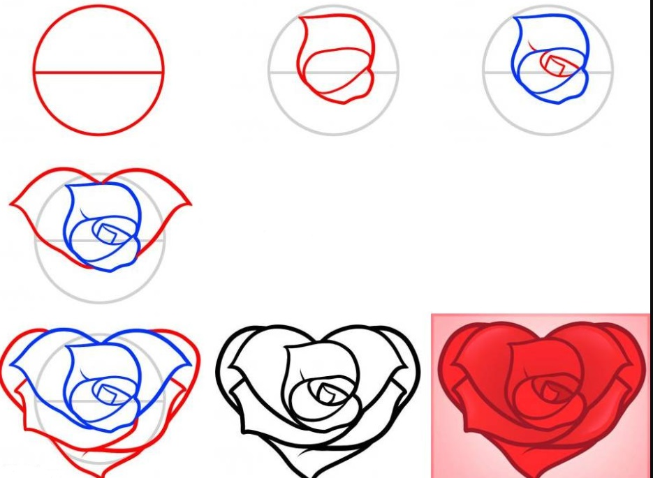 Для, как нарисовать красивую картинку карандашом поэтапно
