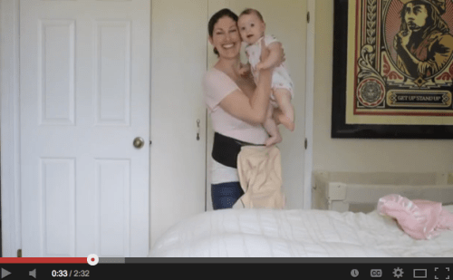 video review of ergobaby 360 carrier