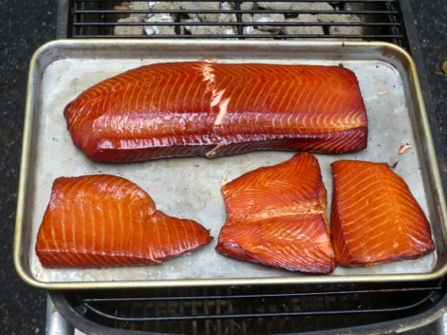Apple Wood Smoked Salmon