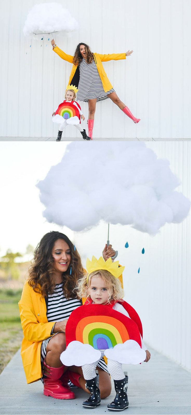 Creative Halloween Makeup Ideas A Subtle Revelry: Creative Mom And Kid Halloween Costumes