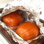 prepping pie pumpkins