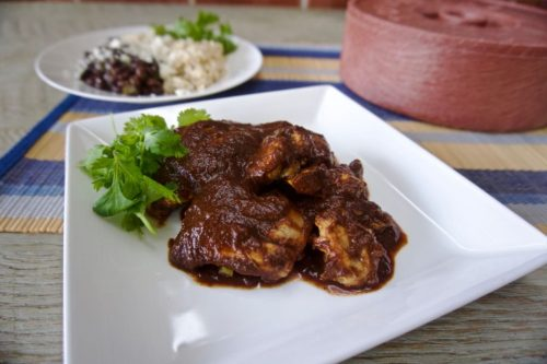 easy chicken mole recipe