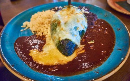 Red O Restaurant - Mariscos Chile Relleno