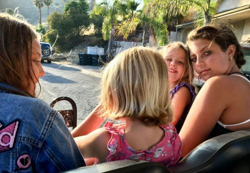 Golf Carting around Catalina