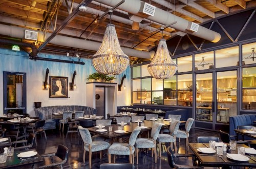 Herb and Wood Restaurant in San Diego
