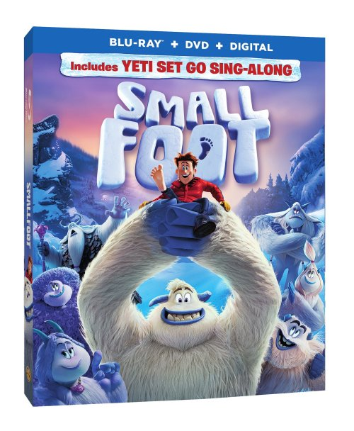 Smallfoot DVD Giveaway