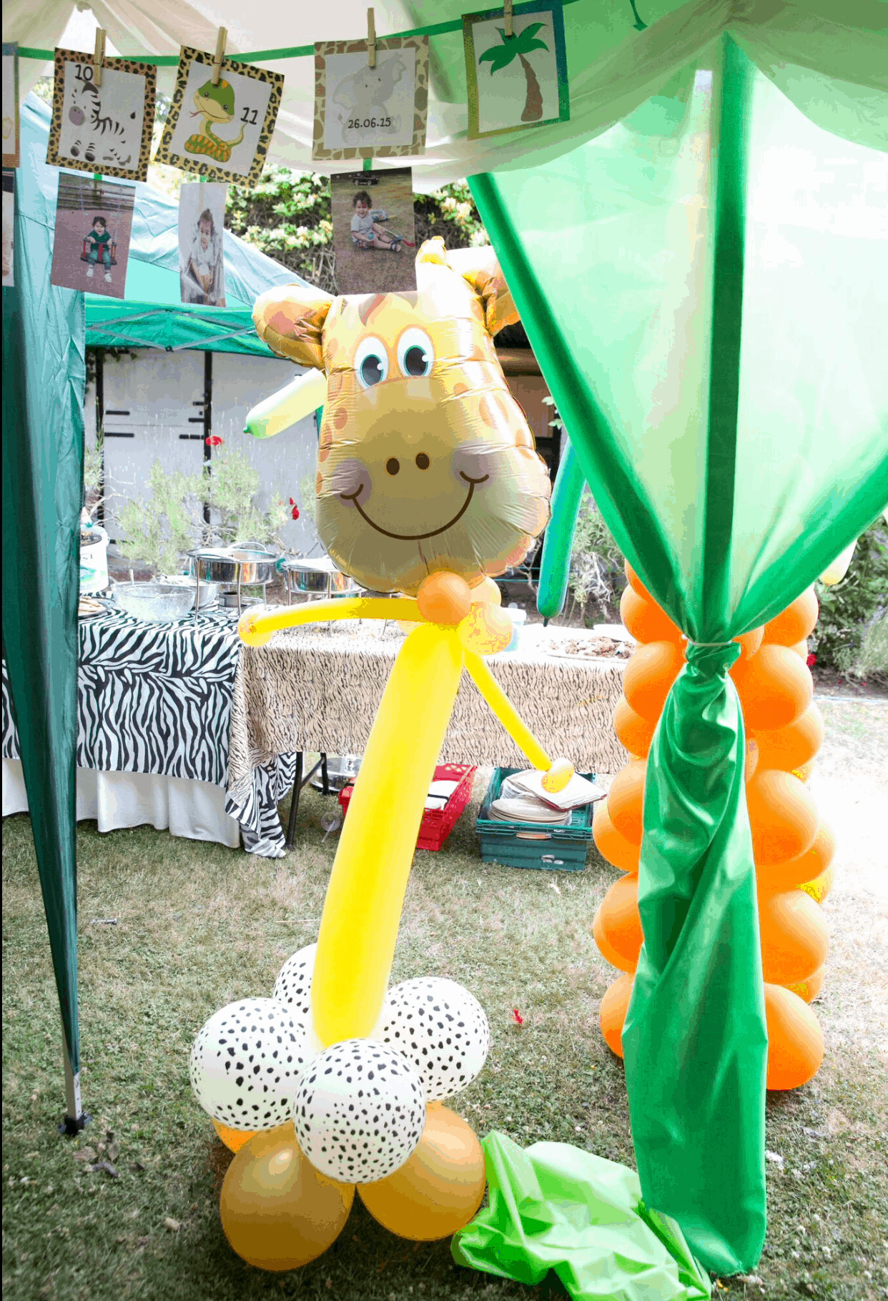 Arjuns 1st Birthday Jungle Party The Decor Baby Brain Memoirs