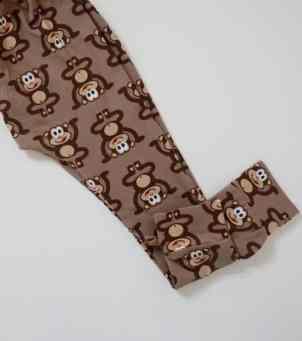Brown Monkey Leggings